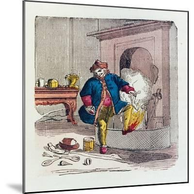 A Visit from St. Nicholas, 1840s-T.C. Boyd-Mounted Giclee Print