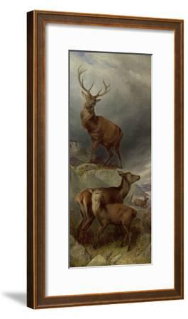 The Deer Forest-Richard Ansdell-Framed Giclee Print