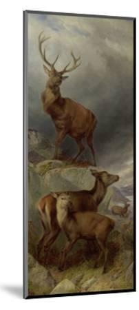 The Deer Forest-Richard Ansdell-Mounted Giclee Print