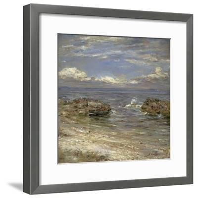 Natural Harbour, Cockenzie-William McTaggart-Framed Giclee Print