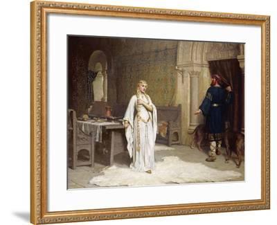 Lady Godiva, 1892-Edmund Blair Leighton-Framed Giclee Print