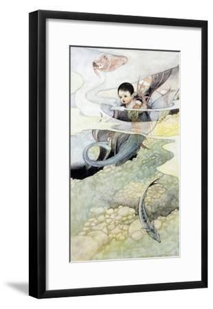 The Mer-Baby-Charles Robinson-Framed Giclee Print