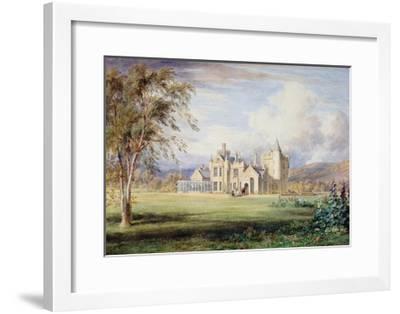 Balmoral Castle, C.1840-James William Giles-Framed Giclee Print