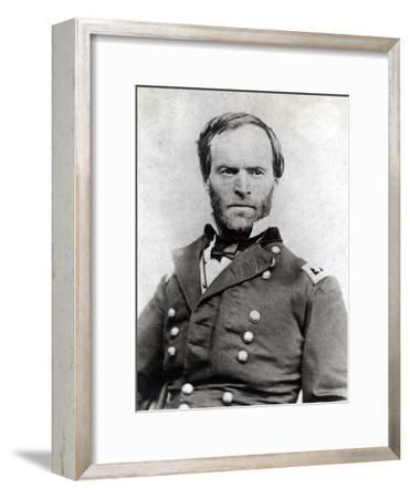 General William Tecumseh Sherman (1820-91)--Framed Photographic Print