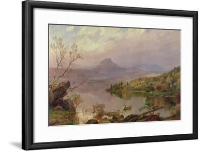 Sugarloaf from Wickham Lake, 1876-Jasper Francis Cropsey-Framed Giclee Print