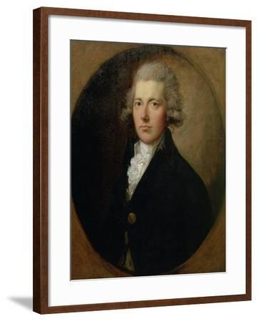 Portrait of William Pitt the Younger (1759-1806), C.1787-Thomas Gainsborough-Framed Giclee Print