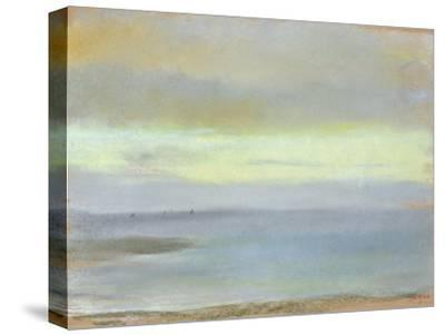Marine Sunset, C.1869-Edgar Degas-Stretched Canvas Print