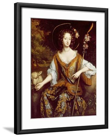 Elizabeth Jones, Countess of Kildare, C.1684-William Wissing-Framed Giclee Print