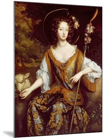 Elizabeth Jones, Countess of Kildare, C.1684-William Wissing-Mounted Giclee Print