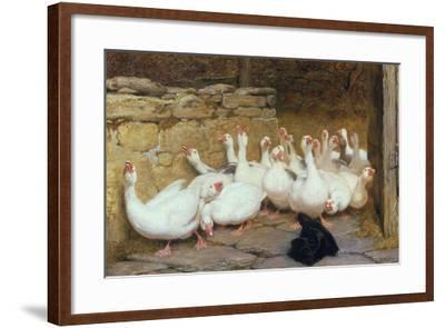 An Anxious Moment, 1878-Briton Rivi?re-Framed Giclee Print