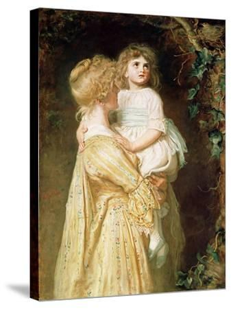 The Nest-John Everett Millais-Stretched Canvas Print