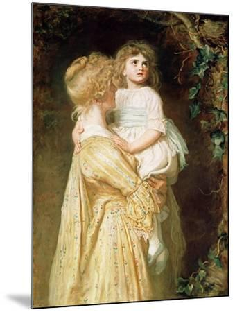 The Nest-John Everett Millais-Mounted Giclee Print