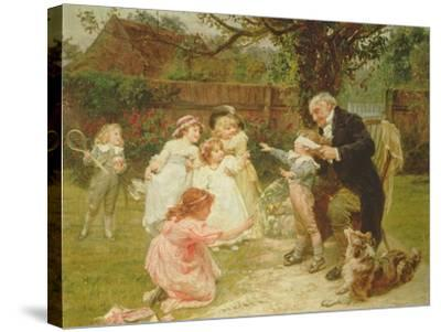 Blind Man's Buff-Frederick Morgan-Stretched Canvas Print