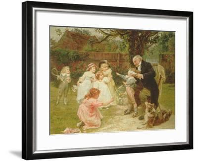 Blind Man's Buff-Frederick Morgan-Framed Giclee Print
