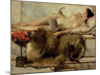 The Tepidarium, 1881-Sir Lawrence Alma-Tadema-Mounted Giclee Print