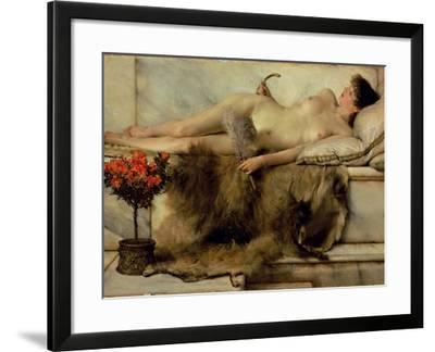 The Tepidarium, 1881-Sir Lawrence Alma-Tadema-Framed Giclee Print
