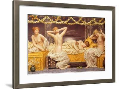 A Summer Night, 1890-Albert Joseph Moore-Framed Giclee Print
