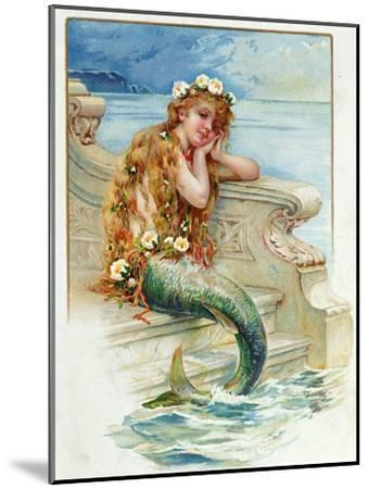 Little Mermaid, by Hans Christian Andersen (1805-75)-E^s^ Hardy-Mounted Giclee Print