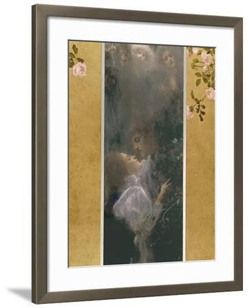 Allegory of Love, 1895-Gustav Klimt-Framed Giclee Print