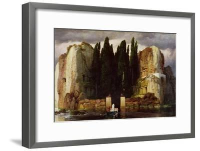 The Isle of the Dead, 1886-Arnold Bocklin-Framed Giclee Print