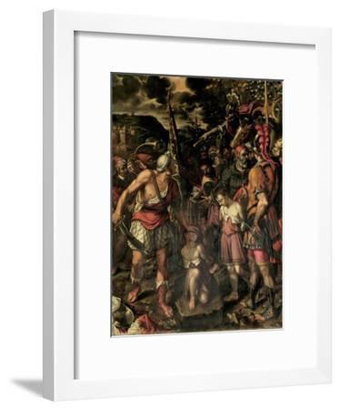 Santos Ninos Justo Y Pastor-Alonso Sanchez Coello-Framed Premium Giclee Print