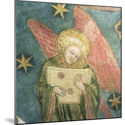 Angel Musician Playing a Psaltery, Detail from the Vault of the Crypt--Mounted Giclee Print