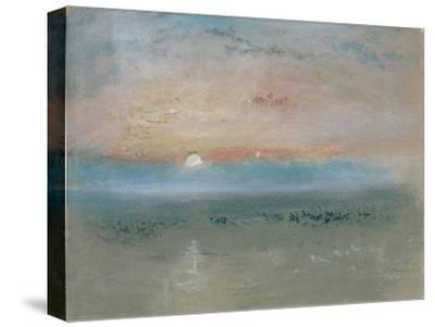 Sunset, C.1830-J^ M^ W^ Turner-Stretched Canvas Print