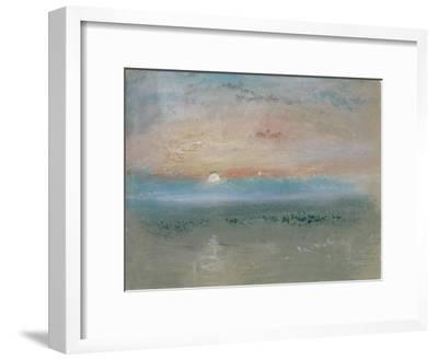 Sunset, C.1830-J^ M^ W^ Turner-Framed Giclee Print