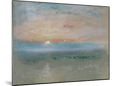 Sunset, C.1830-J^ M^ W^ Turner-Mounted Giclee Print