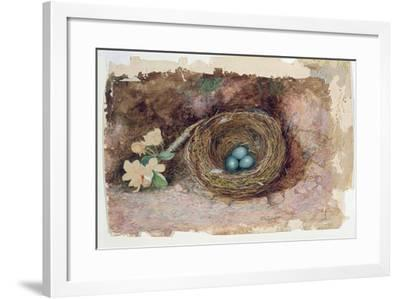 Birds Nest, 1863-John Atkinson Grimshaw-Framed Giclee Print