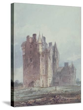 Glamis Castle-Thomas Girtin-Stretched Canvas Print