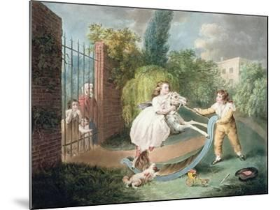 The Rocking Horse, C.1793-James Ward-Mounted Giclee Print