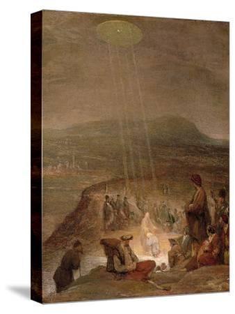 Baptism of Christ, C.1710-Aert de Gelder-Stretched Canvas Print