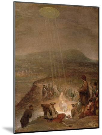 Baptism of Christ, C.1710-Aert de Gelder-Mounted Premium Giclee Print