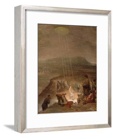 Baptism of Christ, C.1710-Aert de Gelder-Framed Premium Giclee Print