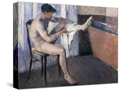 Man Drying His Leg-Gustave Caillebotte-Stretched Canvas Print