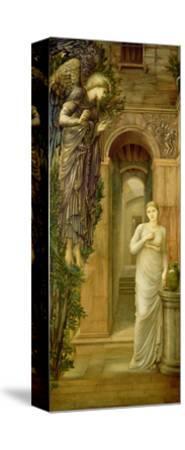 The Annunciation-Edward Burne-Jones-Stretched Canvas Print