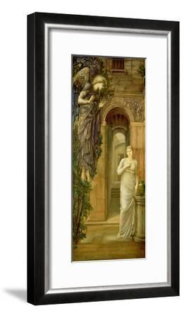 The Annunciation-Edward Burne-Jones-Framed Giclee Print