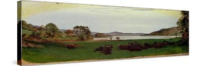 Windermere, 1855-Ford Madox Brown-Stretched Canvas Print