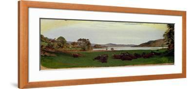 Windermere, 1855-Ford Madox Brown-Framed Giclee Print