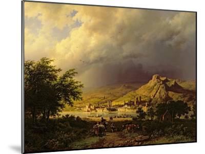A Coming Storm-Barend Cornelis Koekkoek-Mounted Giclee Print
