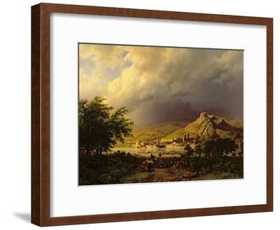 A Coming Storm-Barend Cornelis Koekkoek-Framed Giclee Print