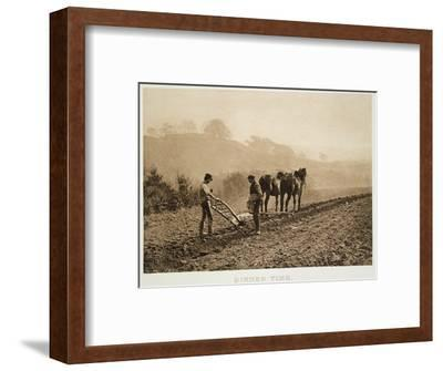 Dinner Time, from 'sun Artists: a Serial of Artistic Photography', Published 1889-91-Frank Meadow Sutcliffe-Framed Photographic Print