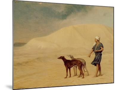 In the Desert-Jean Leon Gerome-Mounted Giclee Print