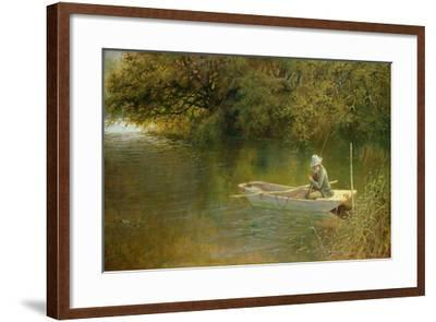 Contentment, a Corner of a Norfolk Broad-George Parsons Norman-Framed Giclee Print