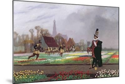 The Tulip Folly, 1882-Jean Leon Gerome-Mounted Giclee Print
