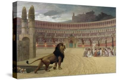 The Christian Martyr's Last Prayer, 1863-83-Jean Leon Gerome-Stretched Canvas Print