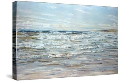 And All the Choral Waters Sang-William McTaggart-Stretched Canvas Print