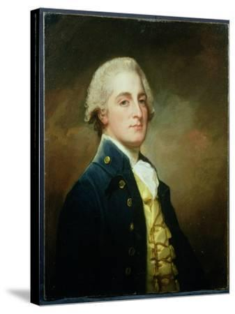 Portrait of George Boscawen (1758-1808) Third Viscount Falmouth, 1784-George Romney-Stretched Canvas Print
