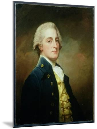 Portrait of George Boscawen (1758-1808) Third Viscount Falmouth, 1784-George Romney-Mounted Giclee Print